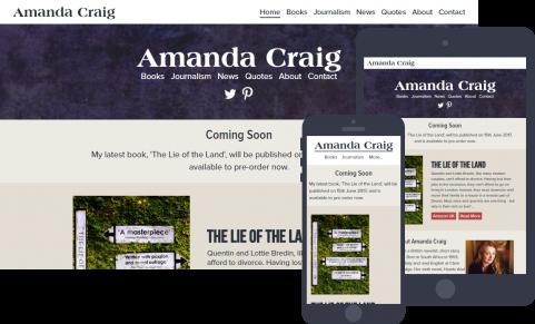 Amanda Craig website