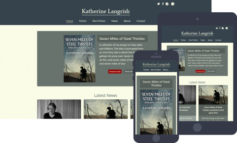 Katherine Langrish website