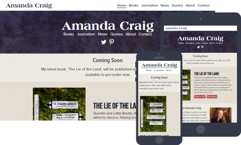 Amanda Craig website