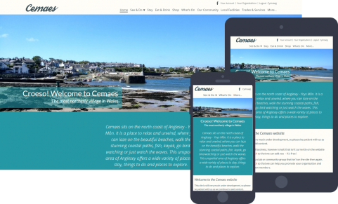 Cemaes community website